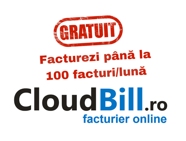 Program facturare online CloudBill gratuit